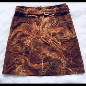 Cynthia Steffe Corduroy Skirt